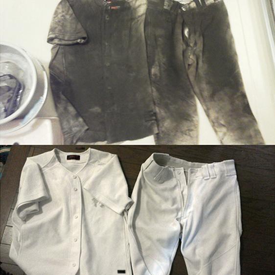 泥汚れの落とし方|くつ下やユニフォーム、作業服についた汚れの洗濯方法
