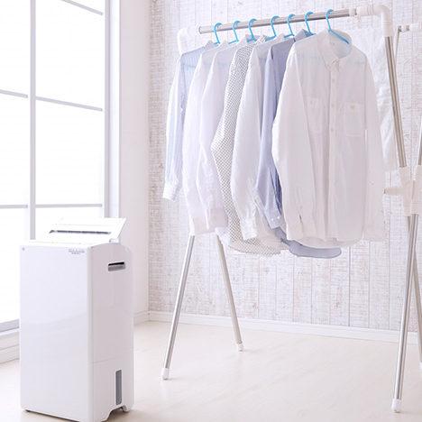 部屋干しで洗濯物を早く乾かす裏ワザ